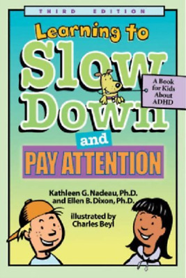 `Nadeau, Kathleen G./ Dixon...-Learning To Slow Down & Pay (US IMPORT) BOOK NEW