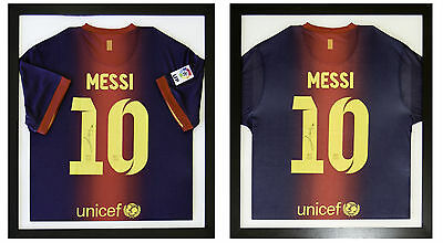 2 x FRAMES FOR FOOTBALL SHIRT, RUGBY, CRICKET, T-SHIRT *INCLUDES SHIRT INSERTS*