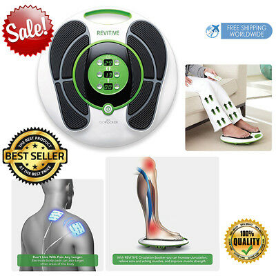 Diabetic Foot Massager Blood Flow Health Circulation Booster Relax Powerful FDA