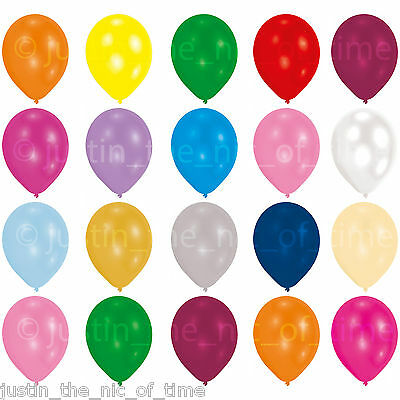 """Clear Helium Quality Latex Balloons 12"""" Wedding Christening Birthday Party"""