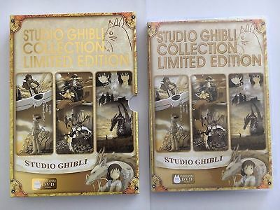 NEW 17+1(18)Movie Miyazaki Films Studio Ghibli Collection DVD HIGH QUALITY