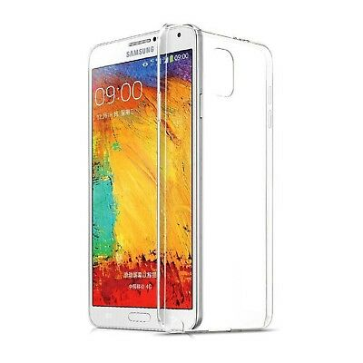 Custodia Silicone TPU Gel Trasparente per Samsung Galaxy Note 4 Cover Ultra Thin