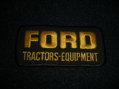 Ford Tractors Equipment Advertisement Patch Orginal 1980's