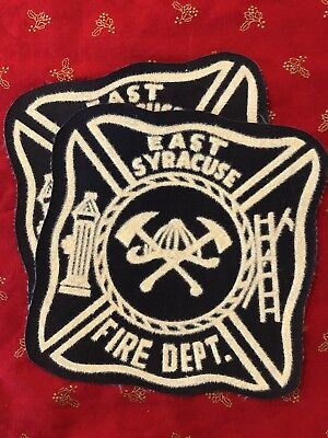 Pair Of East Syracuse Fire Department Patches