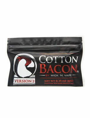 Cotton Bacon V2 By Wick 'N' Vape 100% Authentic Watch Out For Fakes * Best price