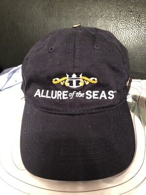 Rccl Royal Caribbean Cruise Line Allure Of The Seas Start-Up Crew Strap-Back Hat