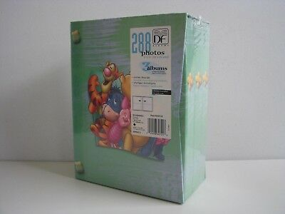 DISNEY WINNIE THE POOH 3 BABY ALBUM SET 288 PHOTOS 4x6 NIB