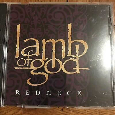 """""""Redneck"""" by Lamb of God 2006 Promo CD With Two Live Tracks"""