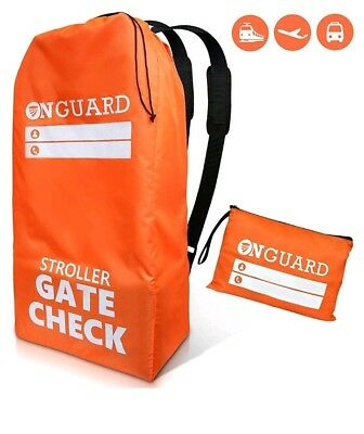 OnGuard - Double Stroller Bag with Storage Pouch