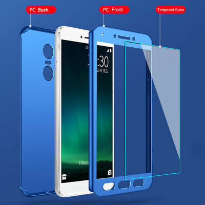 New fashion 360° Full coverage+ PC Glass Phone Case For XIAOMI Cover  #1