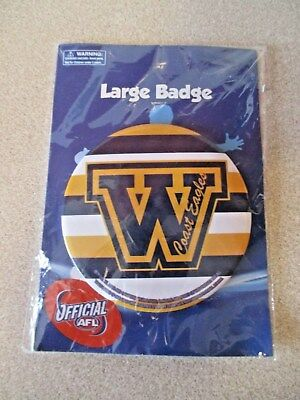 Official AFL West Coast Eagles WCE Collectable Large Badge