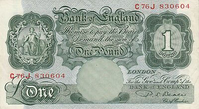 1960s english 1 pound excellent cond