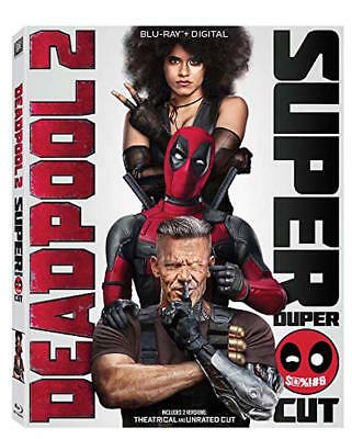 Deadpool 2 Blu-Ray - Super Duper Cut - New Unopened - Ryan Reynolds