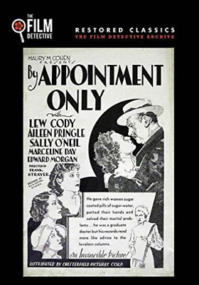 By Appointment Only (the Film Detective Restored Ver (Importación USA) DVD NUEVO