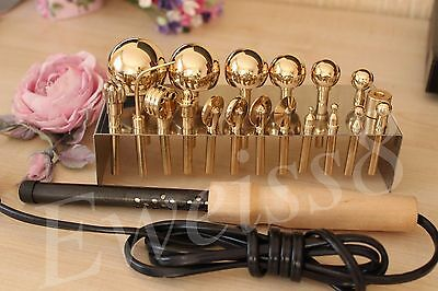 SALE!19 High Quality Professional Millinery Flower Making Tools + Soldering iron