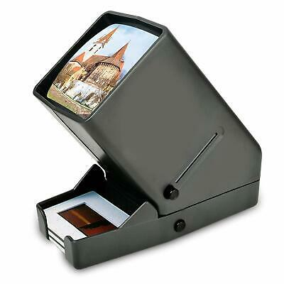 "Mini Desk Top Portable LED Negative Slide Viewer 35mm 2X2"" Mounted Slides"