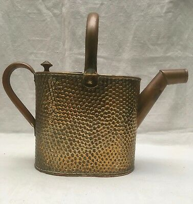 Vintage Shabby Chic BELDRAY Hammered COPPER Small Watering Can with Lid - 2,3 L