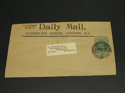 UK 1903 wrapper to Finland *13213