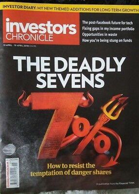 The Deadly Sevens, Investors Chronicle, 13 -19 April 2018