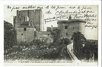 CPA-Carte postale - France - Loches - Le Donjon -Tour de Louis XI 1906 - S1906