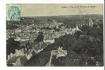 CPA-Carte postale - France -Loches -Panorama-1906 - S1907