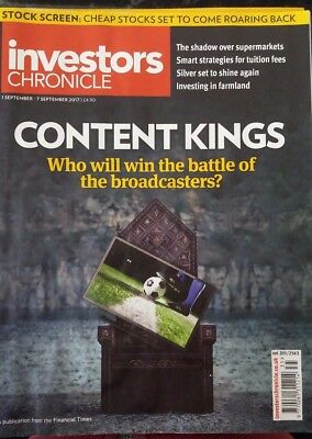 Content Kings, Investors Chronicle, 1 - 7 September 2017