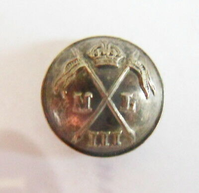 Indian Army. 3rd Madras Lancers Officer's Tunic Button