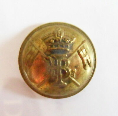 Indian Army. 1st Bengal Lancers Other Ranks Tunic Button (pre 1903)