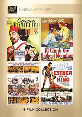 Cardinal Richelieu 1935; I`d Climb The Highest Mount (Importación USA) DVD NUEVO