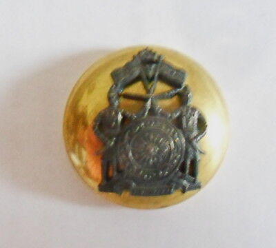 Indian Army. Jammu & Kashmir Forces Officer's Tunic Button (pre 1903)