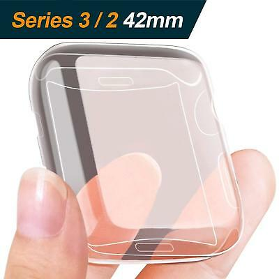 [2Pack] Compatible with Apple Watch  Series 3/2 Screen Protector and Case 42mm