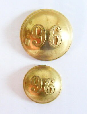 Indian Army. 96th Berar Infantry Officer's Tunic Buttons.