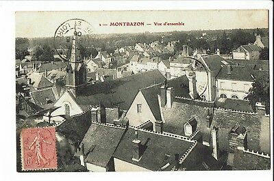 CPA-Carte postale - France -Montbazon vue d'ensemble 1906 - S1909