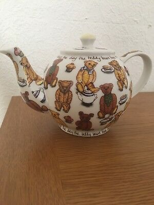 Honesty Paul Cardew Design Signed Limited Edition Collectable Teapot Tea Shop Counter China & Dinnerware