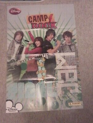 Camp Rock Poster: Demi Lovato and Jonas Brothers