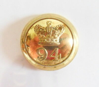 94th Regiment Officer's Coatee Button.