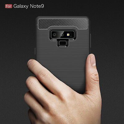 Samsung Galaxy Note 9 TPU Silicone Gel Back Full Body Clear Bumper Cover Case