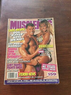 MUSCLEMAG INTERNATIONAL MAGAZINE - August 1995