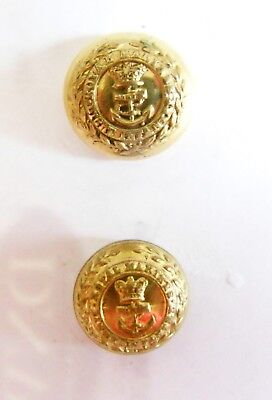 Royal Marines Light Infantry Officer's Coatee Buttons.