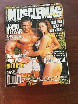 MUSCLEMAG INTERNATIONAL MAGAZINE - June 1998