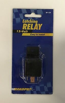 12 volt latching relay