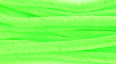 Lime Green Jumbo Chenille Sticks Pipe Cleaners 12mm x 30cm Trimits Craft 15 Pack