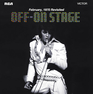 Elvis Presley - ELVIS OFF–ON STAGE - FTD CD - 7 INCH - New & Sealed IN STOCK NOW