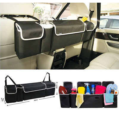 Car Seat Back Organizers High Capacity Oxford For Interior Accessories Multi-use