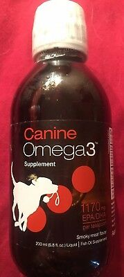 Omega 3 Fish Oil for Dogs-Natural Pet Supplement. Smokey Meat Flavor