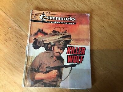 Commando War comic -No 1162 Killer Wolf.