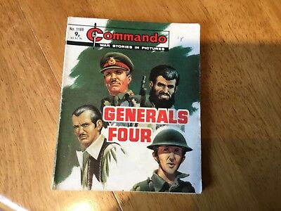 Commando War comic - No 1169 Generals Four