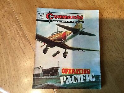 Commando War comic - No 1175 Operation Pacific