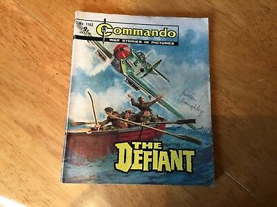 Commando War comic -No 1163 The Defiant