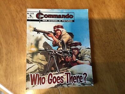 Commando War comic - No 1173 Who Goes There ?